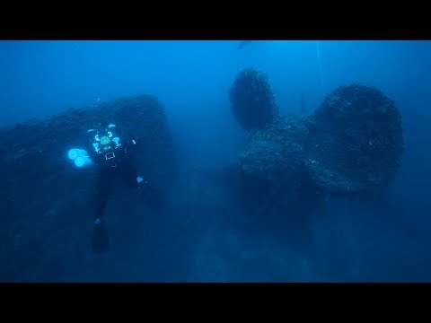 ST. ISTVAN 152m wreck in Adriatic - Croatia-expedition