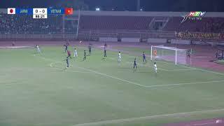 TRANH CÃI: 10 phút cuối trận chơi bóng ma của U19 VN không cho Nhật Bản chạm bóng