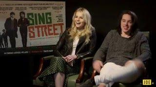 Ferdia Walsh-Peelo & Lucy Boynton chat Sing Street, Sting's wife & hairspray streaming