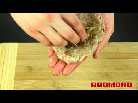 Зразы мясные в мультиварке REDMOND RMC-M4502