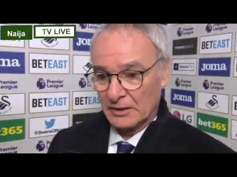 Swansea 2:2 Leicester- Paul Clement And Claudio Ranieri Post Match Interview