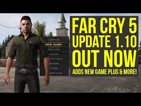 Far Cry 5 Update 1.10 OUT NOW - Adds New Game Plus, New Difficulty & More! (Far Cry 5 New Game Plus) thumbnail