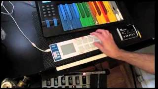 How to freestyle a Funky Drummer beat on a midi pad.mp4