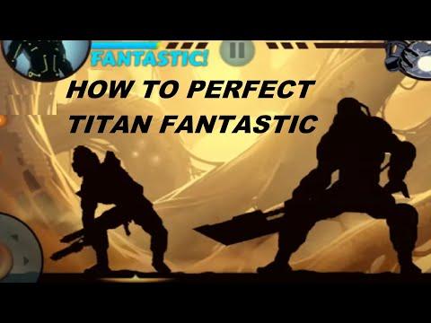 Shadow Fight 2 Titan Fantastic Perfect ! + Legit Combo 18 Nice ! + Troll Titan : D