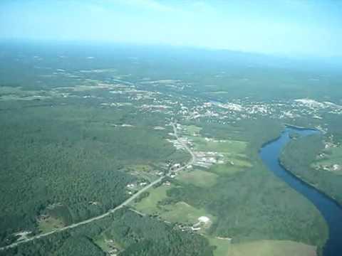 Views of Skowhegan, Maine.wmv