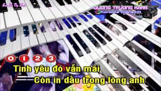 [Karaoke Nhạc Sống] - Tình Yêu Còn Đâu Remix (Full Vip)