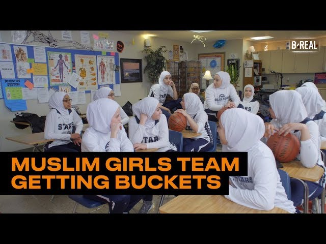 Meet the All-Muslim Girls Team Getting Buckets and Turning Heads | B/Real