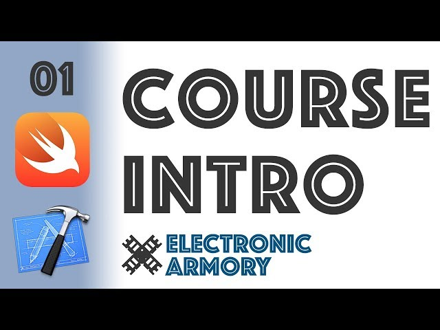 Course Intro - iOS Development in Swift 4 - 01
