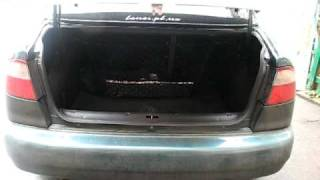 Открытие багажника