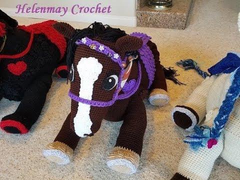 Amigurumi Horse and Donkey - A Free Crochet Pattern - Grace and Yarn | 360x480
