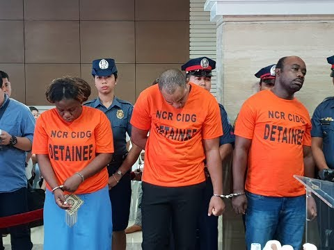 American Nationals Arrested in Nigerian Black Money Scam - Pasay City/Mall of Asia