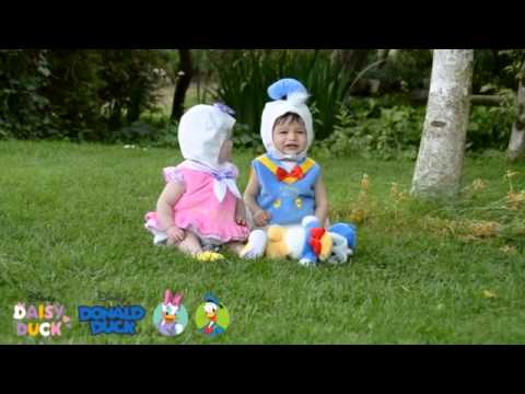 The Imagination Company Baby Daisy Duck and Baby Donald Duck Dress Up Costume  sc 1 st  YouTube & The Imagination Company Baby Daisy Duck and Baby Donald Duck Dress ...