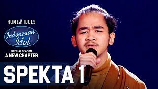 AZHARDI - SECUKUPNYA (Hindia) - SPEKTA SHOW TOP 14 - Indonesian Idol 2021