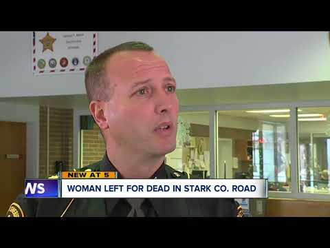 Woman found dead on side of road in Plain Township, authorities believe she was hit by car