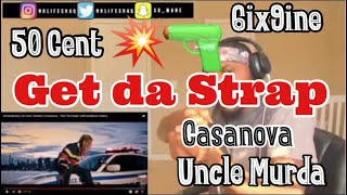 "6ix9ine | 50 Cent | Uncle Murda | Casanova - ""Get The Strap"" (Official Music Video)"