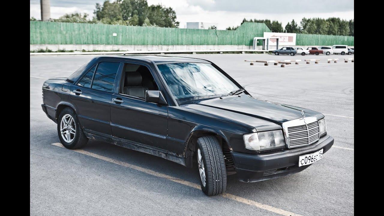 Mercedes 190 (W201) свап двигателя. Mercedes 190 swap engine