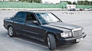 Mercedes 190 (W201) Свап Двигателя. Mercedes 190 Swap Engine