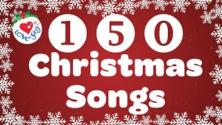 150 Top Christmas Songs and Carols Playlist with Lyrics 🎄