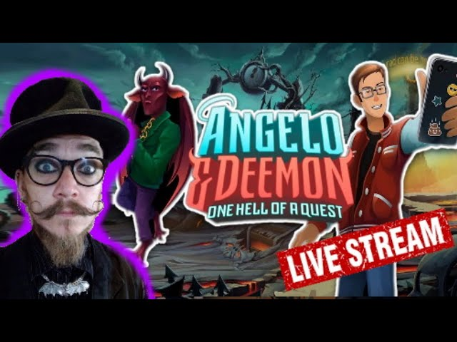 Hell Trains ( Angelo and Deemon: One Hell of a Quest) #AngeloDeemon
