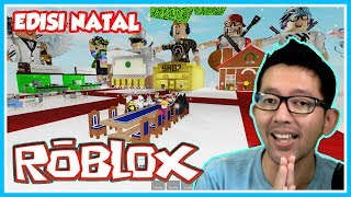 CHRISTMAS EDITION TETEP TO EAT INDOMIE SAMA COFFEE SASETAN-CUPU SKWAD GAME #5-ROBLOX INDONESIA