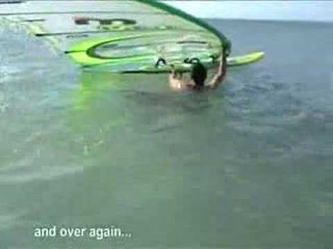 windsurfing how to waterstart