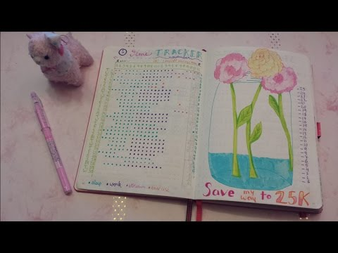November Bullet Journal Flipthrough