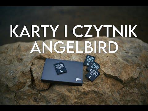 Karta pamięci SD i czytnik kart pamięci od Angelbird - moje wrażenia