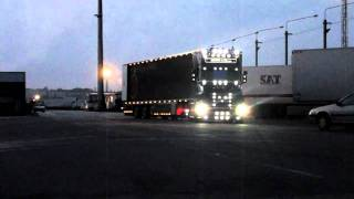 scania t longline v8 transports philippe maurin routiers de chato 44 sky