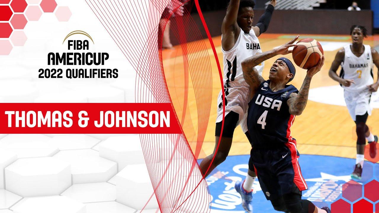 Isaiah Thomas & Joe Johnson rule the court! | FIBA AmeriCup 2022 Qualifiers