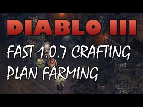 Diablo 3: Fast 1.0.7 Crafting Plan Farming (Efficient Ghom Runs)