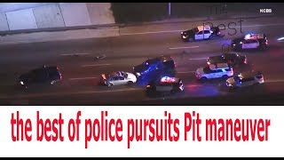 the best of police pursuits Pit maneuver