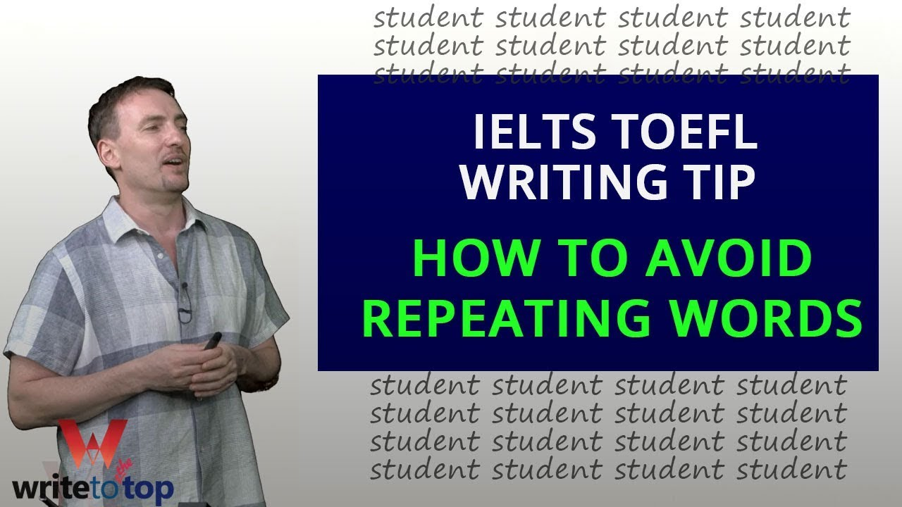 Watch How to Avoid Repetitive Words and Phrases in Fiction Writing video