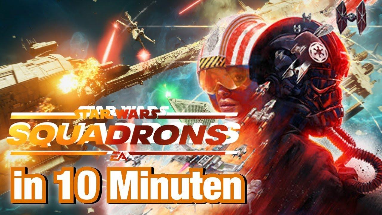 Harter Einstieg, gute Story und viele Erfolge | Star Wars Squadrons in 10 Minuten | Review Deutsch