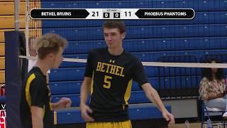 Bethel Bruins v Phoebus Phantoms - Boys Volleyball - October 16, 2018