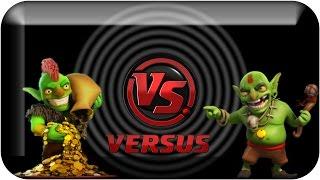 Goblins VS Goblins a Batalha dos Verdinhos - Clash of Clans