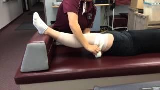 Knee Compression Wrap
