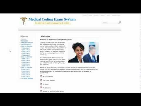 Medical Coding Exam System