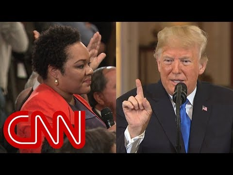 Trump calls reporter's question 'racist'