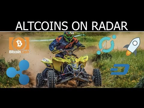 Cryptocurrency Altcoins on Jeff's  Radar March 2018