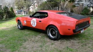 1971 Mustang Mach 1 (Boss 351) Race car for sale on ebay! Nikon D3100 1080p HD