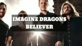 IMAGINE DRAGONS-BELIEVER(lyrics)