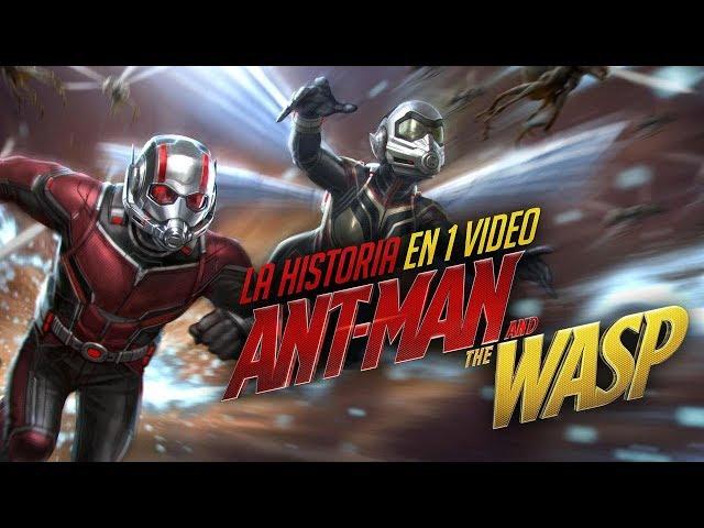 Ant-Man and The Wasp: La Historia en 1 Video