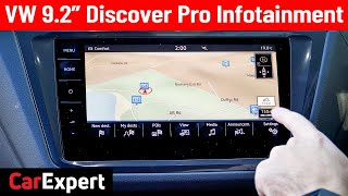 "2020 Volkswagen Discover Pro 9.2"" & Digital Cockpit expert infotainment review"