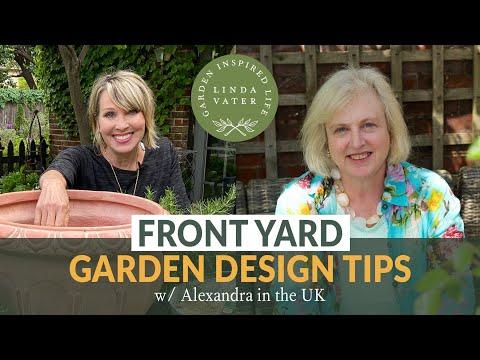 🇬🇧 FRONT YARD GARDEN DESIGN TIPS w/ Alexandra at The Middle-sized Garden UK   || Linda Vater