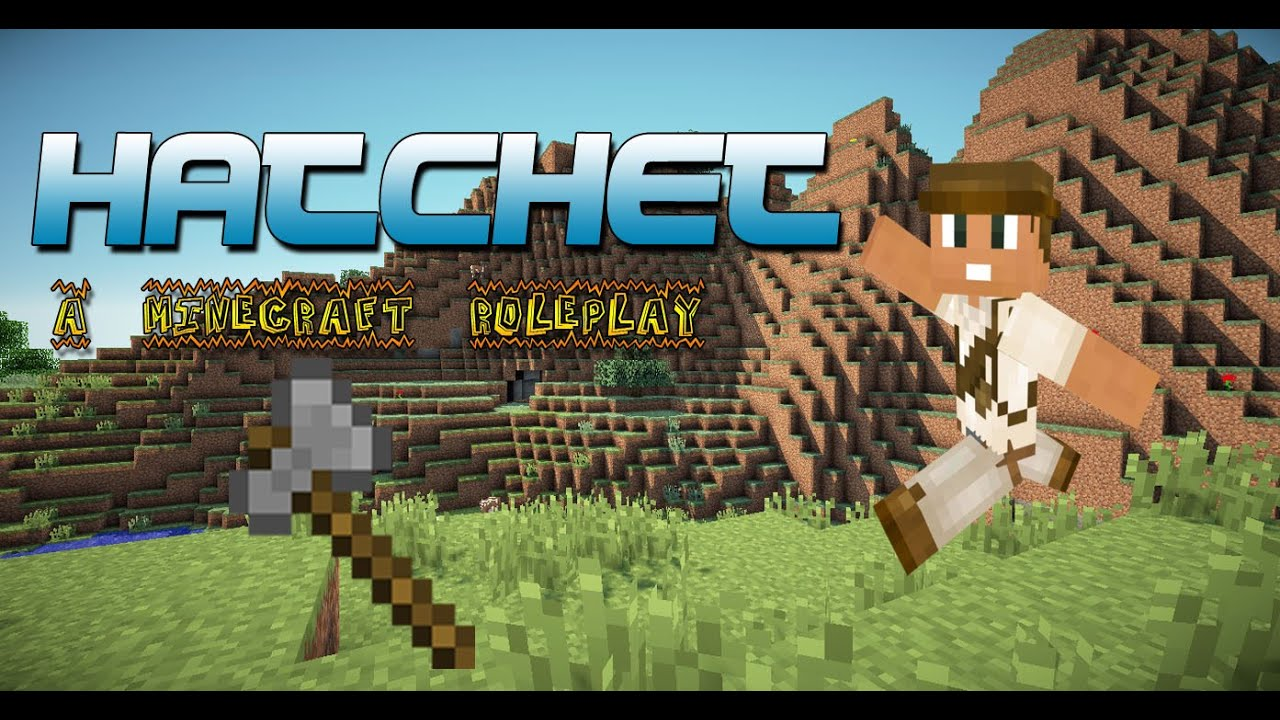 how to make a hatchet in minecraft