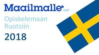 Opiskelemaan Ruotsiin 2018 - haku korkeakouluun ja opiskelijoiden kokemuksia Uppsalasta