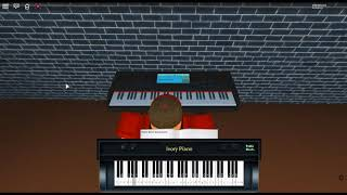Hello July by: 줄라이 [July] on a ROBLOX piano.