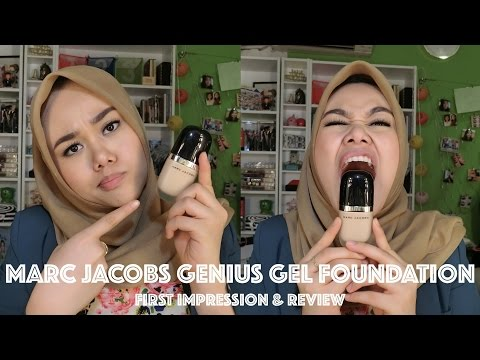 Marc Jacobs Genius Gel Foundation | First Impression Review | Bahasa Indonesia | MakeupbyFatya