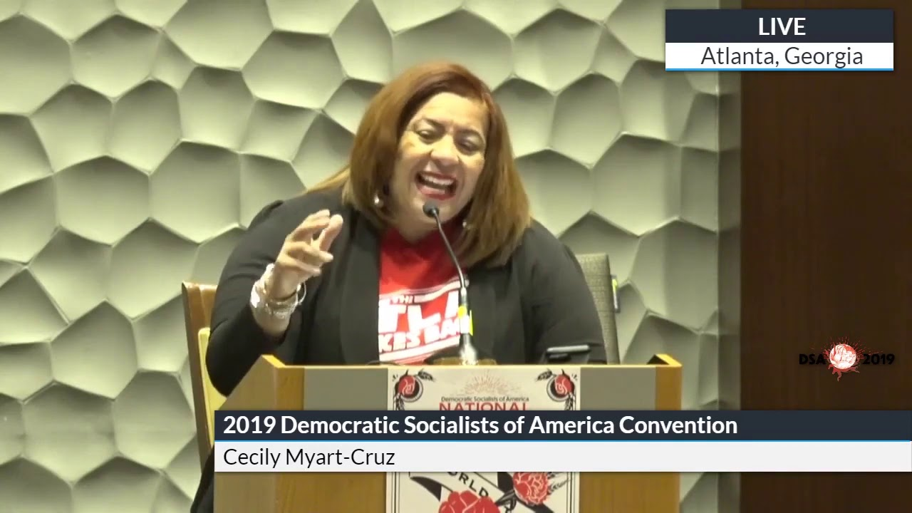 2019 Convention: A World to Win - Democratic Socialists of