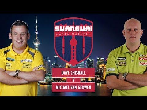 2017 Shanghai Darts Masters Final Chisnall vs van Gerwen